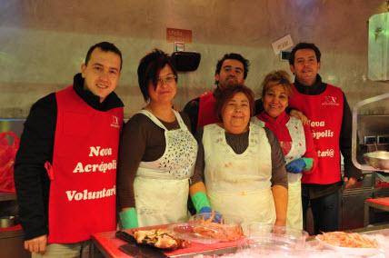 Nueva Acrópolis - Mercat Solidari en Barcelona