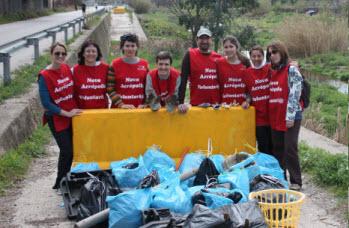 El grupo de voluntarios de Nueva Acrópolis Barcelona y Sabadell