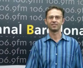 El entrevistado Giosef Quaglia, profesor en Nueva Acrópolis Barcelona.