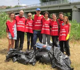 Voluntariado ecológico con Projecte Rius en Nueva Acrópolis Barcelona