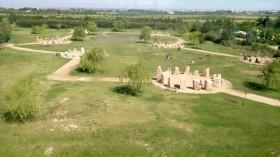 Nueva Acrópolis en Zaragoza visita el Jardín de Rocas La Alfranca