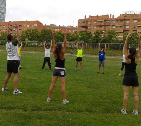 Taller práctico de la Escuela del Deporte en Nueva Acrópolis Barcelona.