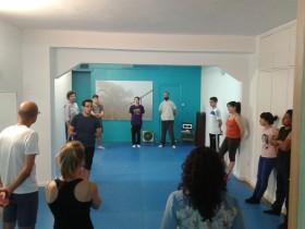 Aprendiendo Defensa personal en Nueva Acrópolis Zaragoza