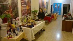Éxito de recaudación en el segundo mercadillo solidario de Nueva Acrópolis en Jaén