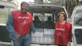 Nueva Acrópolis dona leche al Banco de Alimentos de Jaén