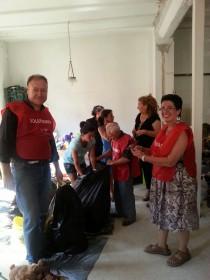 Nueva Acrópolis Valencia en colaboración con varias ONG recoge ropa para Burkina Faso