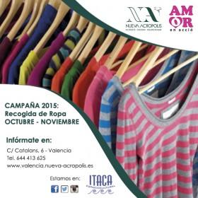 Campaña 2015 de recogida de ropa