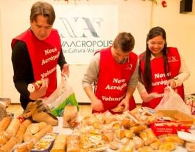 Mercat Solidari, voluntariado social en Nueva Acrópolis Barcelona por una mejor distribución de los alimentos