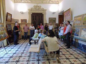2016-6-3 exposicion en el palacio de abrantes de maripi morales an