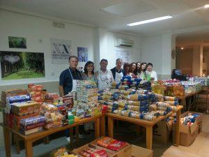 Campaña Solidaria. Recogida de alimentos para la despensa solidaria de Nueva Acrópolis Valencia