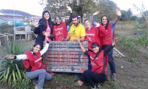 """Voluntariado """"X-Otros"""" en la Huertaka de Baraka"""