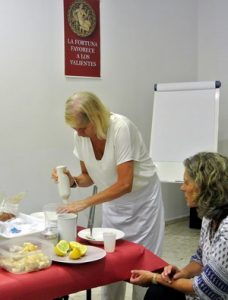 """Come sano y barato"" taller práctico en Nueva Acrópolis Cádiz"