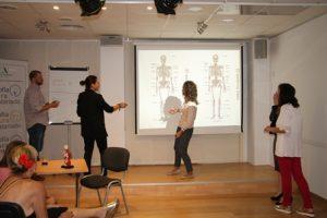 Aula abierta: Conoce tu cuerpo. Taller sobre anatomía y fisiología humanas