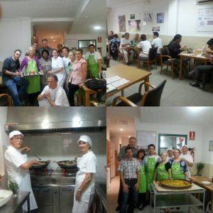 Primera comida del Comedor social Nueva Acrópolis Valencia