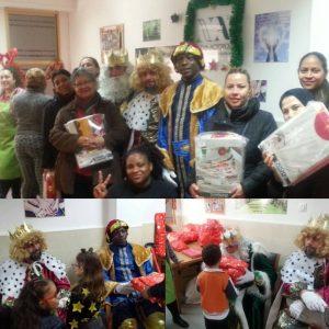 Nueva Acrópolis Valencia celebró el día de Reyes en el Comedor Social
