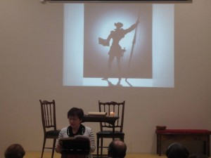 Homenaje a Cervantes (lectura Quijote)