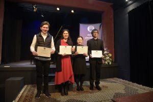 Finalistas del Concurso Internacional de Piano Delia Steinberg