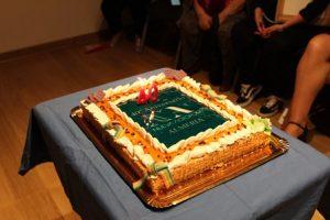Tarta 40 Aniversario Almería