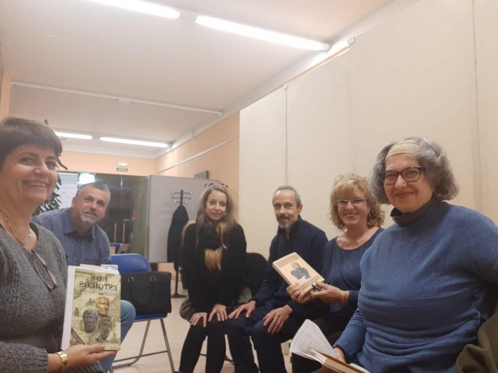 Momento del club de lectura