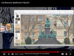 Beethoven filósofo estatua Acrópolis Almería