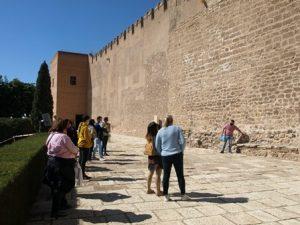 Visita a la Alcazaba de Almería